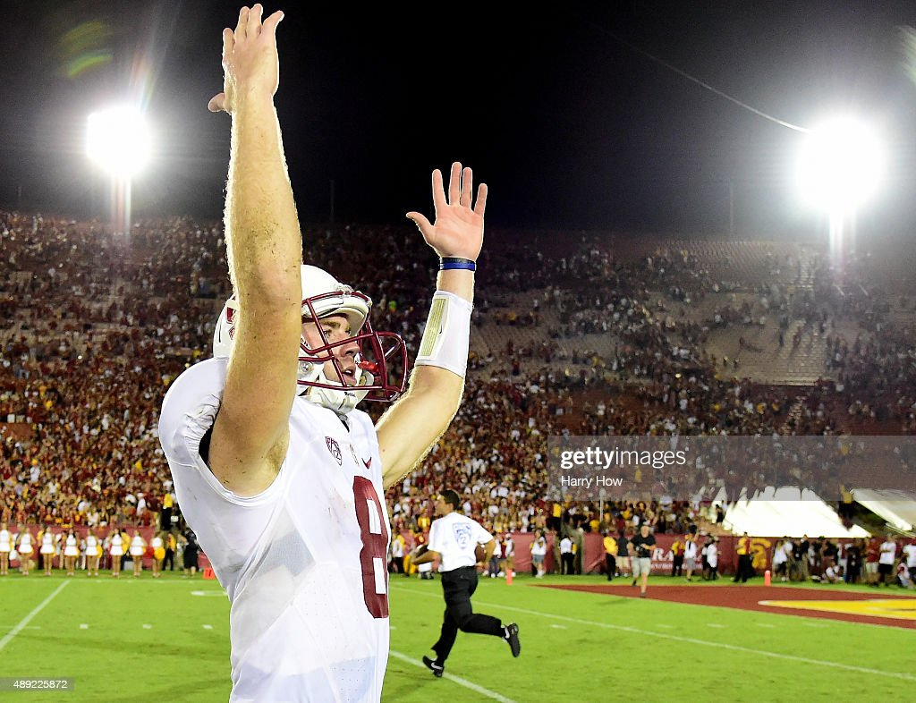 Stanford v USC : News Photo