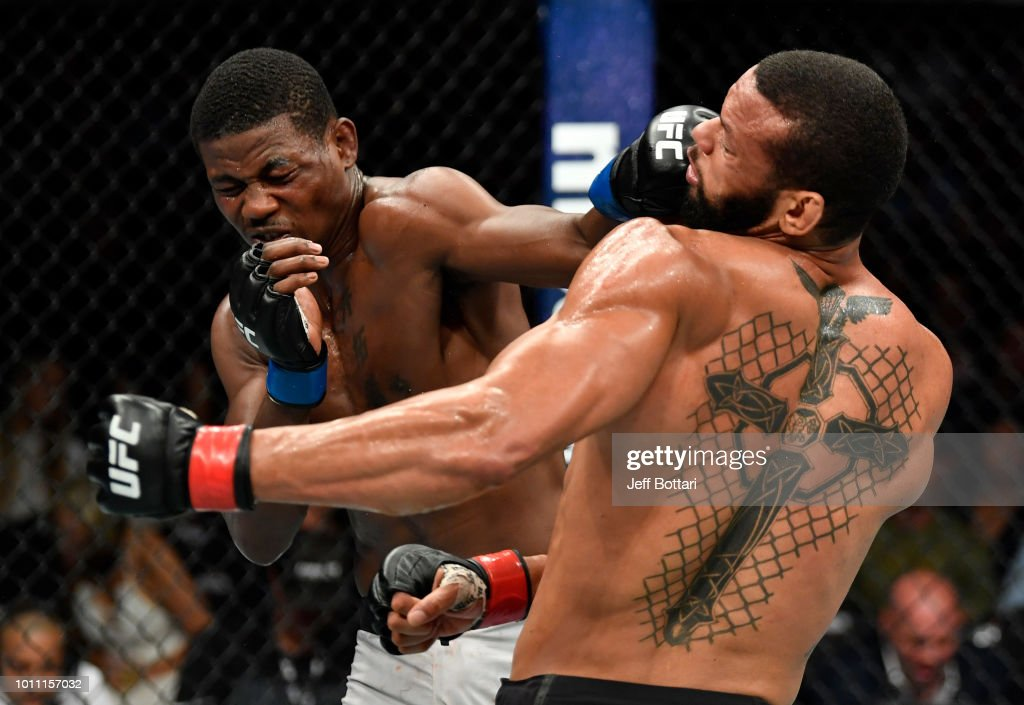 UFC 227: Santos v Holland : News Photo