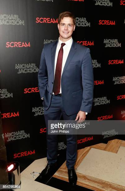 Kevin Hughes attends the Michael Jackson's 'Scream' album launch after party at The Freemason's Hall on September 26 2017 in London England