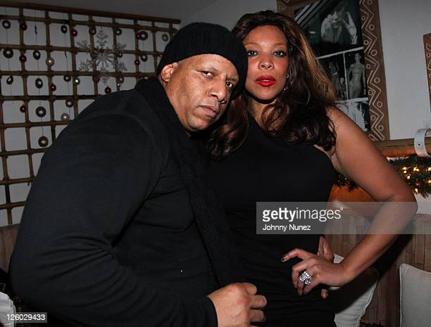 Kevin Hunter and Wendy Williams attend Wendy Williams' 2010 Holiday party at Nikki Beach on December 29 2010 in New York City