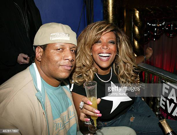 Kevin Hunter and Wendy Williams during Faith Evans Album Release Party for The First Lady Inside at Supper Club in New York City New York United...