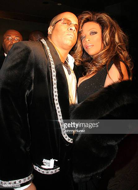 Kevin Hunter and Wendy Williams during Wendy Williams presents Dons and Diva's Black Party Hosted by Mary J Blige Inside at Crobar in New York City...