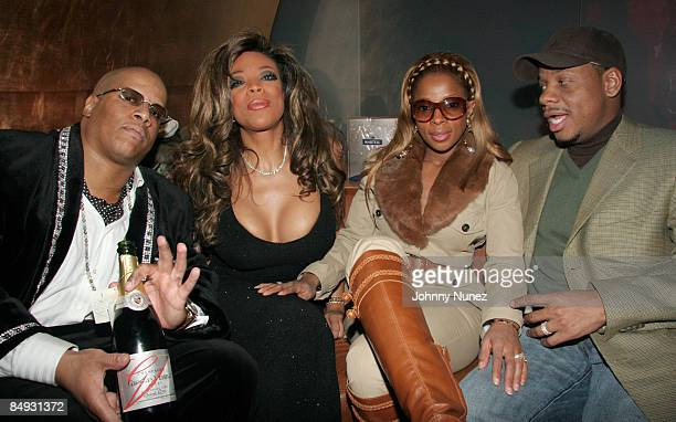 Kevin Hunter Wendy Williams Mary J Blige and Kendu Isaacs