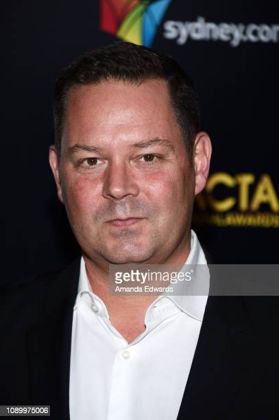 Kevin J Messick arrives at the 8th AACTA International Awards at Mondrian Los Angeles on January 04 2019 in West Hollywood California