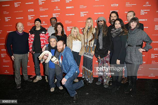 Kevin Jackson Elizabeth Daily Devin Sidell Pancho Moler David Ury Meg Foster Richard Brake and Jeff Daniel Phillips attend the 31 Premiere during the...