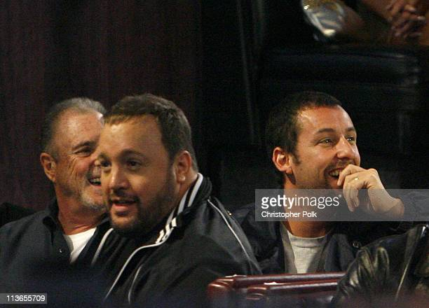 Kevin James and Adam Sandler during First Annual Spike TV's Guys Choice - Backstage and Audience at Radford Studios in Los Angeles, California,...