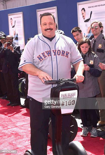 Kevin James attends 'Paul Blart Mall Cop 2' New York Premiere at AMC Loews Lincoln Square on April 11 2015 in New York City