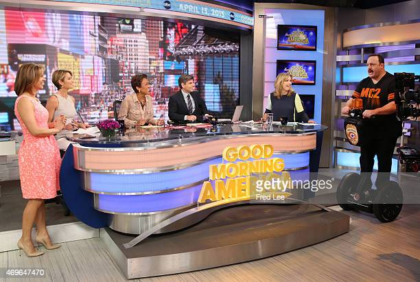 """Kevin James is a guest on """"Good Morning America,"""" 4/13/15, airing on the Walt Disney Television via Getty Images Television Network."""