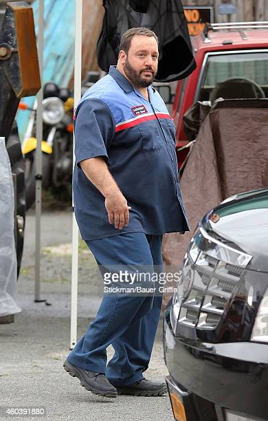 Kevin James is seen on the set of 'Grown Ups 2' on June 25 2012 in Boston Massachusetts
