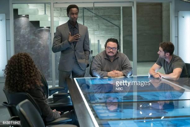 REDEMPTION 'Kevin Jensen' Episode 103 Pictured Edi Gathegi as Matias Solomon Adrian Martinez as Dumont Ryan Eggold as Tom Keen
