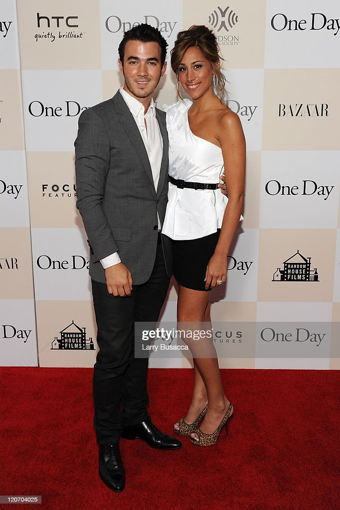 """One Day"" New York Premiere - Inside Arrivals : News Photo"