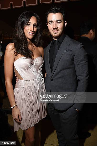 Kevin Jonas and Danielle Jonas attend Hollywood Domino Bovet 1822's 8th Annual PreOscar Hollywood Domino Gala Tournament at Sunset Tower Hotel on...