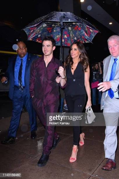 Kevin Jonas and Danielle Jonas attend the SNL after party in Manhattan on May 11 2019 in New York City
