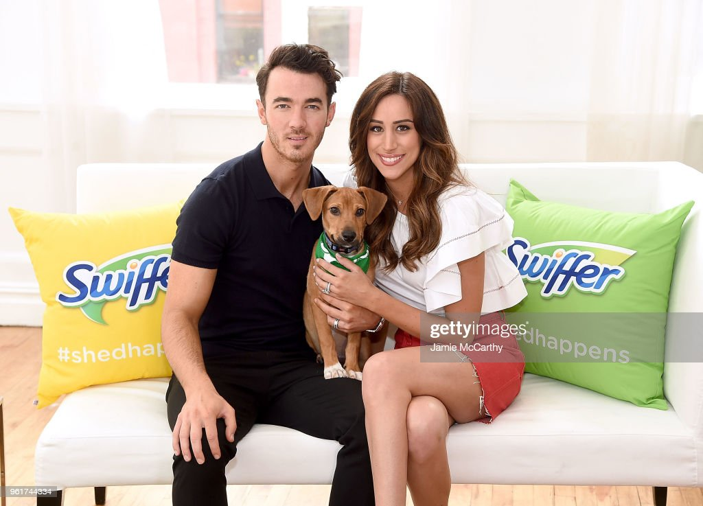 Kevin Jonas & Danielle Jonas Promote Pet Adoption During National Pet Month