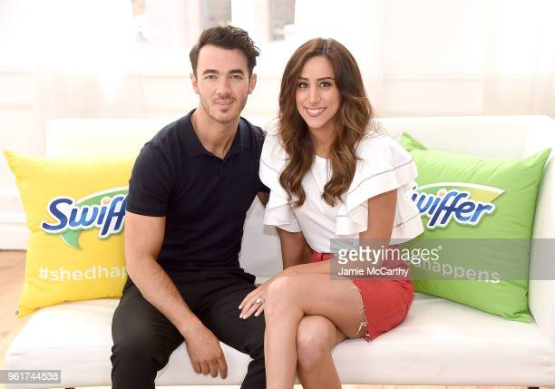 Kevin Jonas and Danielle Jonas promote Pet Adoption During National Pet Month at Home Studios on May 23 2018 in New York City
