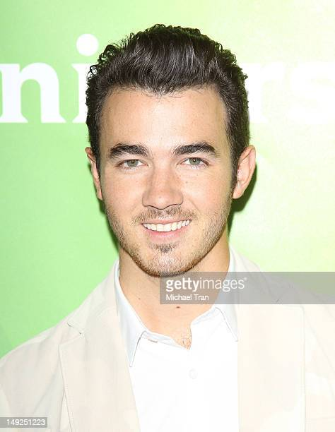 Kevin Jonas arrives at the 2012 TCA Summer press tour NBC Photo Call Day 2 held at The Beverly Hilton Hotel on July 25 2012 in Beverly Hills...