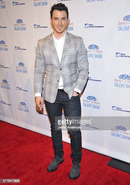 Kevin Jonas attends Garden of Dreams Foundation Children Talent Show at Radio City Music Hall on June 18 2015 in New York City
