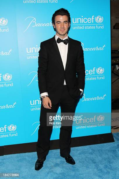 Kevin Jonas attends the 2011 UNICEF Snowflake ball at Cipriani 42nd Street on November 29 2011 in New York City