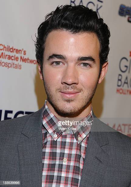 Kevin Jonas attends the XBOX Miracle Of Music Benefit In Honor Of The 2011 AMAs Hosted By Kevin Jonas And Special Guest DJ 'CSquared' Connor Cruise...