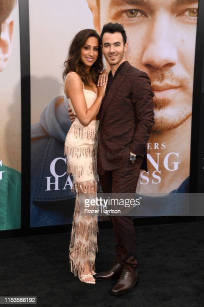 Kevin Jonas Danielle Jonas attend the Premiere Of Amazon Prime Video's Chasing Happiness at Regency Bruin Theatre on June 03 2019 in Los Angeles...