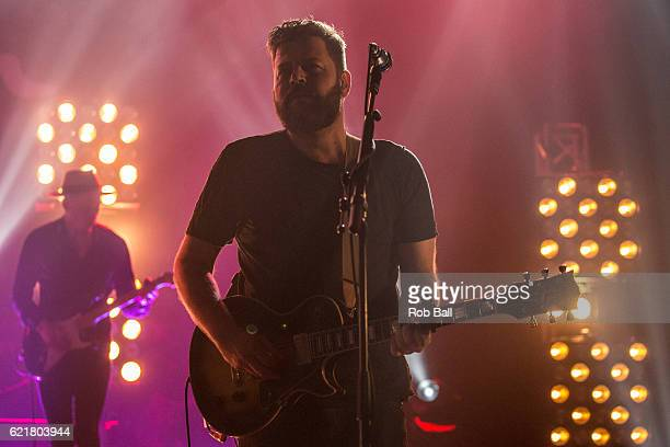 Kevin Jones from Bear's Den at Brixton Academy on November 8 2016 in London England