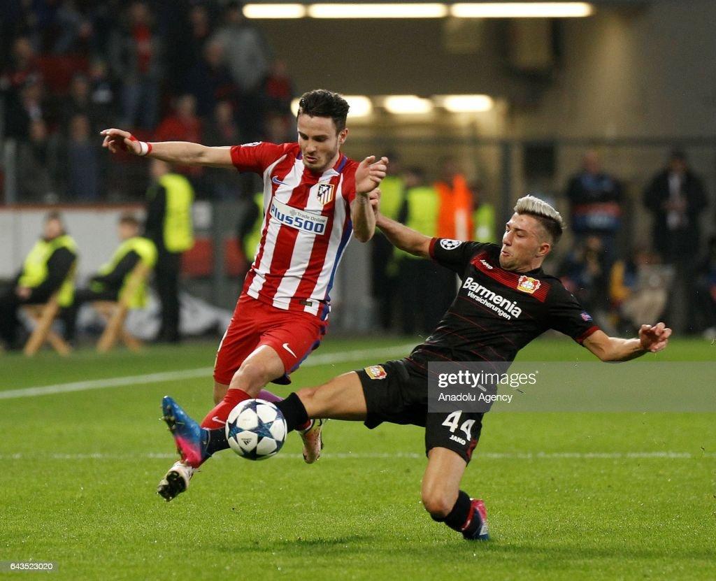 Bayer 04 Leverkusen vs Atletico Madrid   UEFA Champions League   News Photo f3a043eaf3bb3
