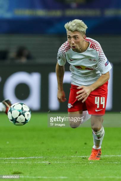 Kevin Kampl of Leipzig controls the ball during the UEFA Champions League group G soccer match between RB Leipzig and Besiktas at the Leipzig Arena...
