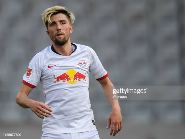 Kevin Kampl of Red Bull Leipzig during the Preseason Friendly match between Red Bull Leipzig v Galatasaray SK at Stadion Tivoli on July 19 2019 in...