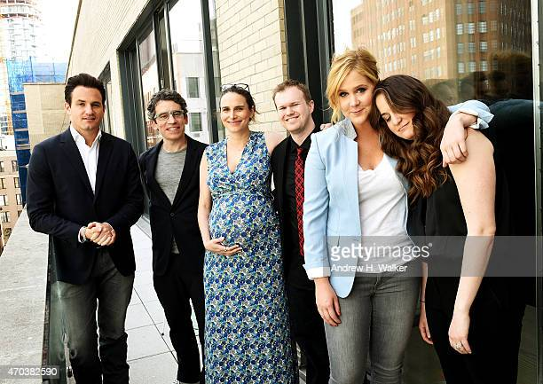 Kevin Kane Ryan McFaul Jessi Klein Daniel Powell Amy Schumer and Kim Caramele attend Tribeca Talks After the Movie Inside Amy Schumer during the 2015...