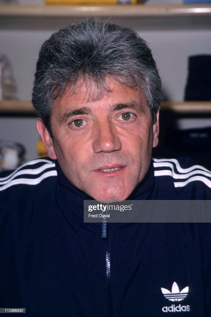 Kevin Keegan at Harrod's sports department