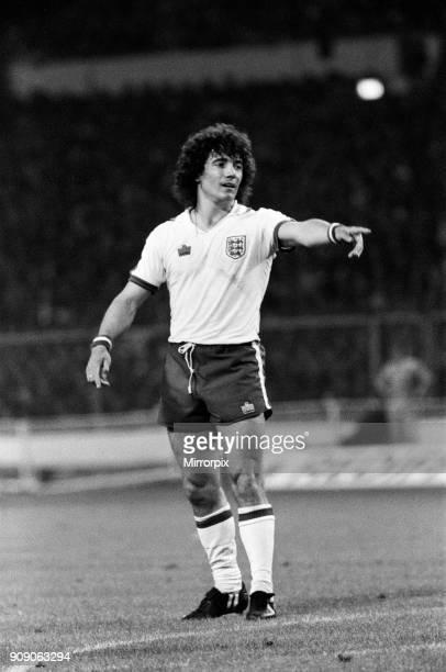 Kevin Keegan during the England v Denmark game UEFA European Championship Group 1 Final score 10 to England Wembley Stadium 12th September 1979
