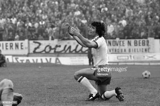 Kevin Keegan goes down on his knees but his prayers were not answered Czechoslovakia v England UEFA European Championship Group 1 Final score 21 to...