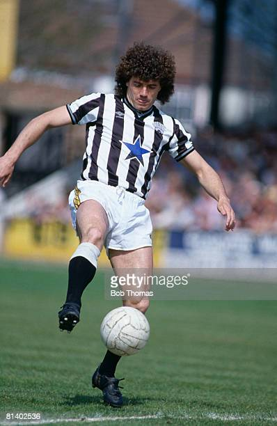 Kevin Keegan in action for Newcastle United 28th April 1984