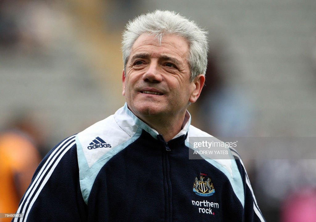 Kevin Keegan, manager of Newcastle Unite : News Photo