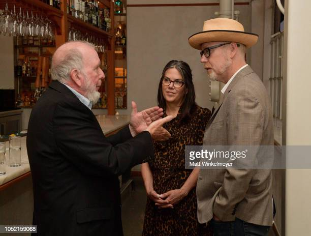 Kevin Kelly Julia Savage and Adam Savage attends VIP Dinner For WIRED's 25th Anniversary Hosted By Nicholas Thompson And Anna Wintour at Tartine...
