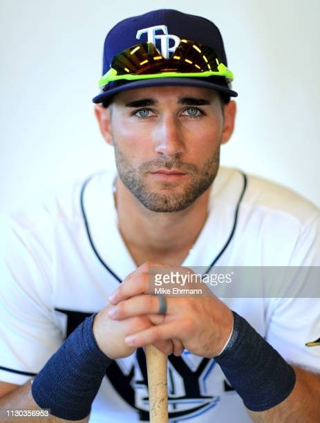 Kevin Kiermaier of the Tampa Bay Rays poses for a portrait during photo day on February 17 2019 in Port Charlotte Florida
