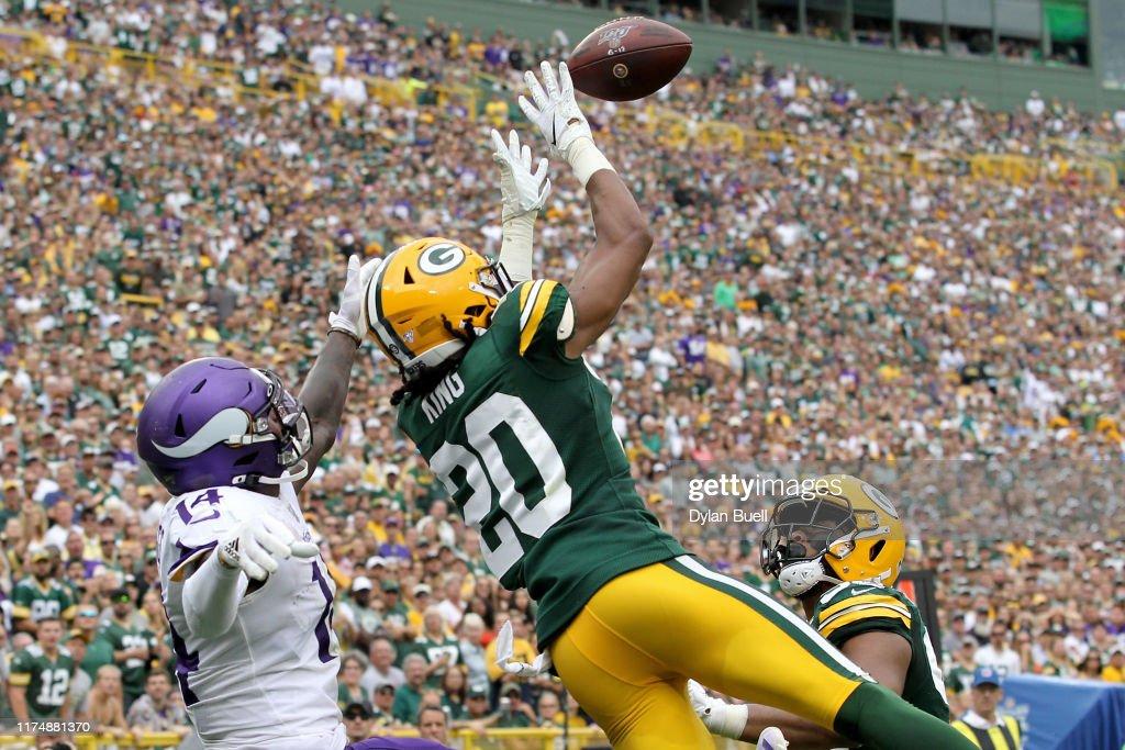 Minnesota Vikings vGreen Bay Packers : Nachrichtenfoto
