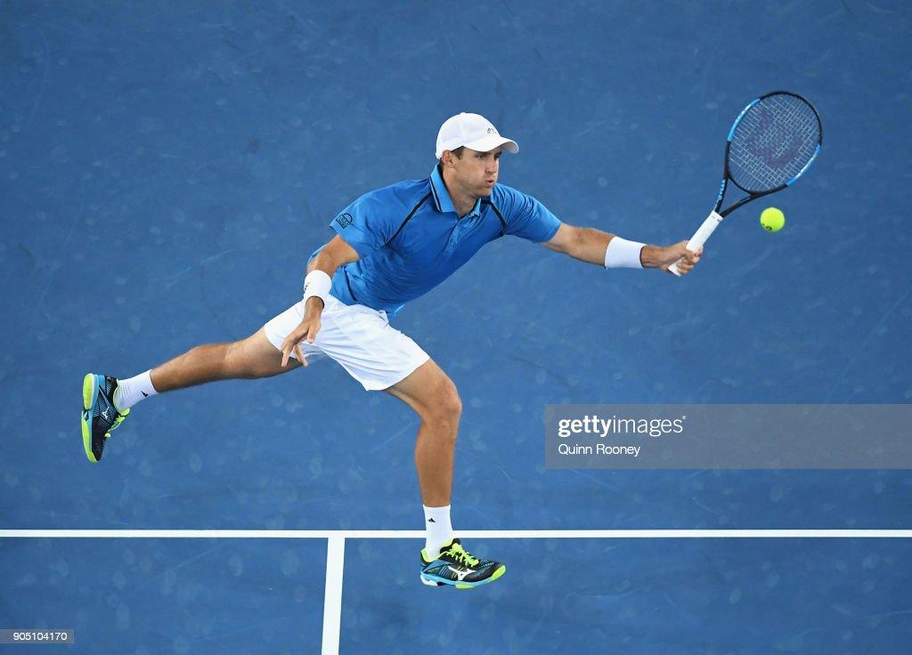 2018 Australian Open - Day 1 : Foto jornalística