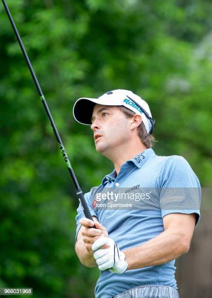 Kevin Kisner during the third round of the Memorial Tournament at Muirfield Village Golf Club in Dublin Ohio on June 02 2018