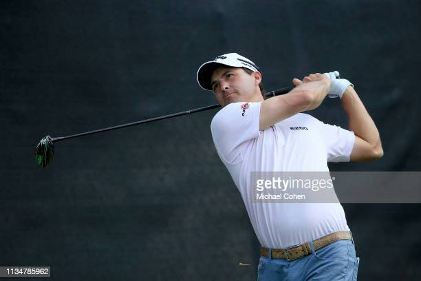 Kevin Kisner of the United States plays his shot from the fourth tee during the third round of the Arnold Palmer Invitational Presented by Mastercard...