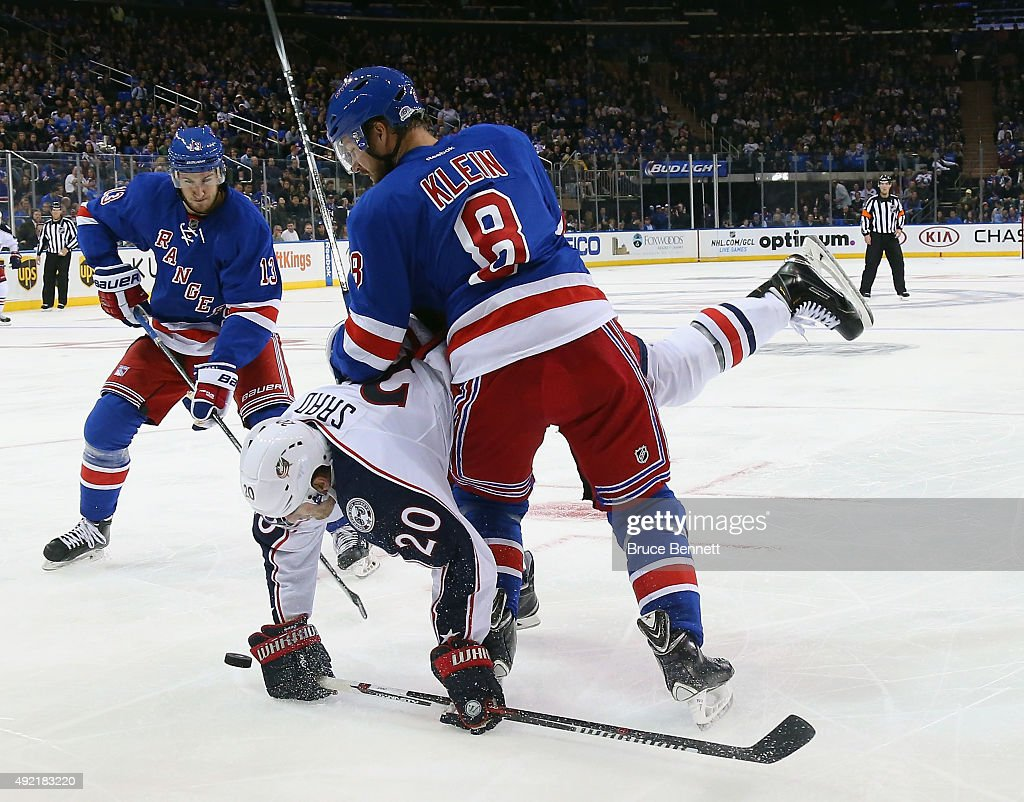 Columbus Blue Jackets v New York Rangers