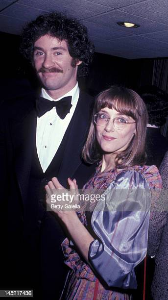 Kevin Kline and Mary Beth Hurt attend the opening of Crimes of the Heart on November 11 1981 at the John Golden Theater in New York City