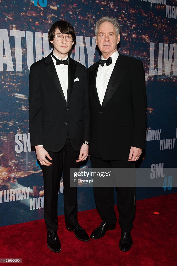 Kevin Kline And Son Owen Kline Attend The Snl 40th Anniversary News Photo Getty Images