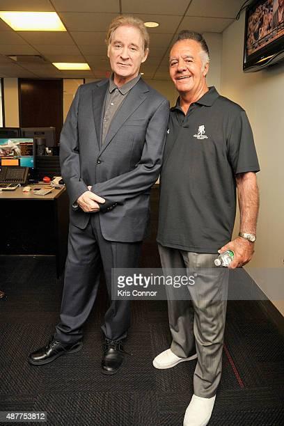 Kevin Kline and Tony Sirico attend Annual Charity Day hosted by Cantor Fitzgerald and BGC at BGC Partners INC on September 11 2015 in New York City