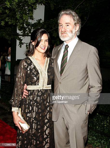 Kevin Kline with Phoebe Cates during The Public's Theaters Annual Gala Opening Night of 'Macbeth' at The Delacorte Theater in Central Park in New...