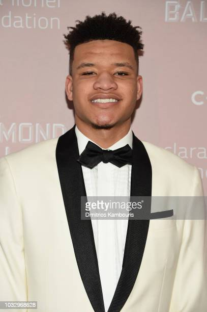 Kevin Knox attends Rihanna's 4th Annual Diamond Ball benefitting The Clara Lionel Foundation at Cipriani Wall Street on September 13 2018 in New York...