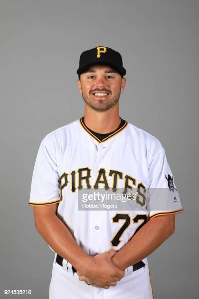 Kevin Kramer of the Pittsburgh Pirates poses during Photo Day on Wednesday February 21 2018 at LECOM Park in Bradenton Florida