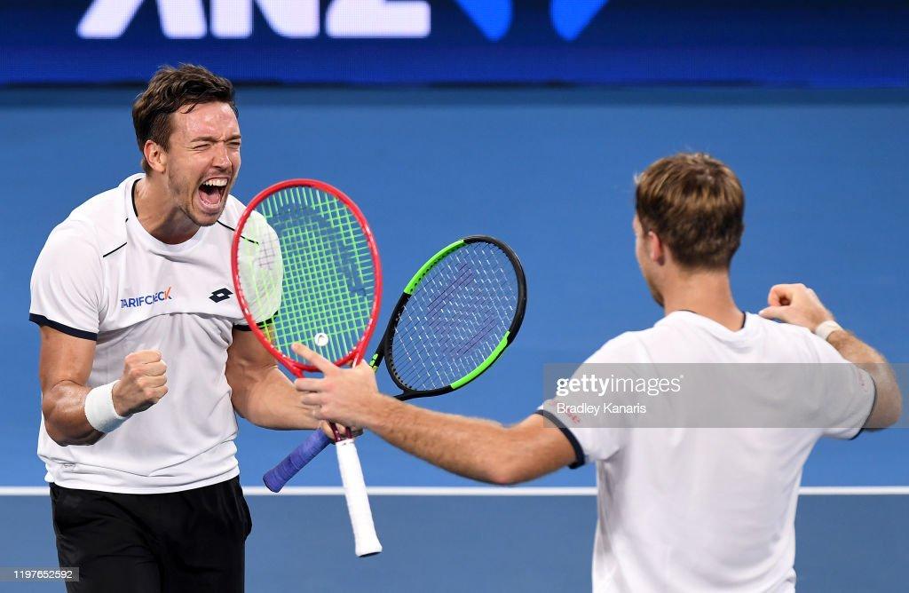 2020 ATP Cup - Brisbane: Day 3 : ニュース写真