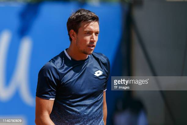 Kevin Krawietz of Germany looks on during the BMW Open by FWU at MTTC IPHITOS on May 01 2019 in Munich Germany