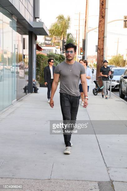 """Kevin Kreider of """"Bling Empire"""" attends Kyle Chan's Retail Store Opening at Kyle Chan Design on June 16, 2021 in Los Angeles, California."""